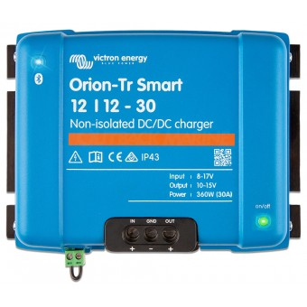 Victron Orion-Tr Smart 12/12-30A (360W) Non-isolated DC-DC charger - Root Catalog