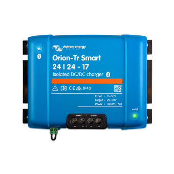 Victron Orion-Tr Smart 24/24-12A (280W) DC-DC charger - 24V Off Grid Battery Chargers
