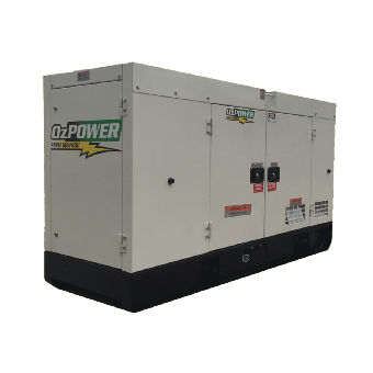 OzPower 69kva Three Phase Diesel Generator - 50kVA to 250kVA Three Phase Stationary Diesel Generators