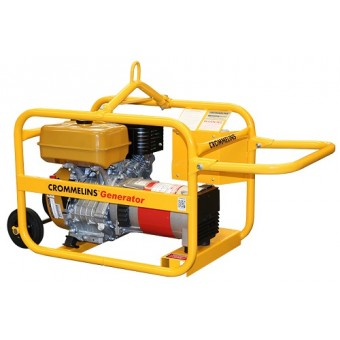 Crommelins Robin 5kVA Worksite Approved Generator - Worksite Approved Petrol Generators