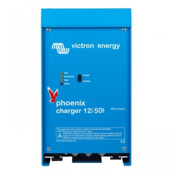 Victron Phoenix Charger 12/50 (2+1) 120-240V - AC to DC Battery Chargers