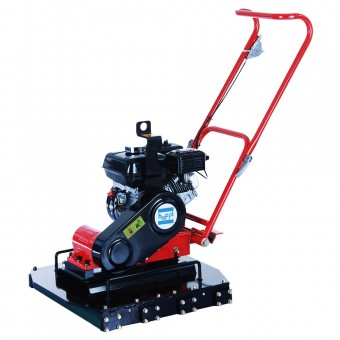 Hoppt Pavement Plate Compactor Petrol Honda GX160 - 123kg - Groundcare, Concreting & Tools SALE