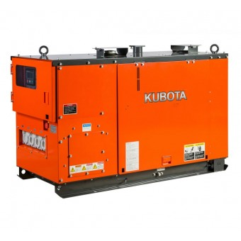 Kubota 12.5kva Three Phase Diesel Generator KJT130 - Up to 50kVA Three Phase Stationary Diesel Generators