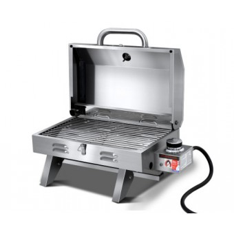 Grillz Portable Gas BBQ Grill - Camping Cooking Appliances