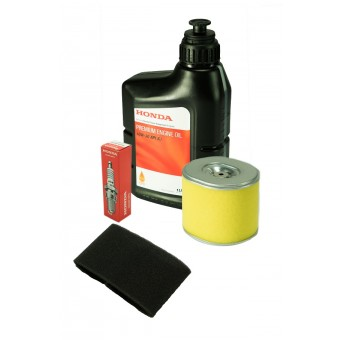 Honda Service Kit for Honda GX160 and GX200 Engine - filters, spark plug and oil - Generator Accessories