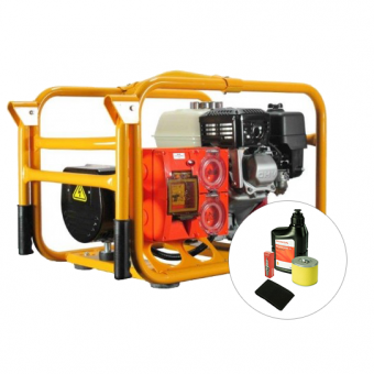 Powerlite Honda 3.3kVA Generator Worksite Approved - Worksite Approved Petrol Generators