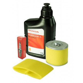 Honda Service Kit for Honda GX340 and GX390 Engine - filters, spark plug and oil - Root Catalog