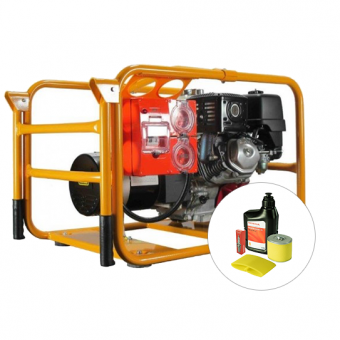 Powerlite Honda 4.5kVA Generator Worksite Approved - Worksite Approved Petrol Generators