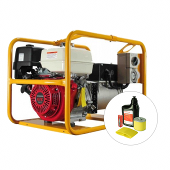 Powerlite Honda 3 Phase 8kVA Generator - Root Catalog
