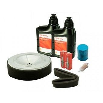Honda Service Kit for Honda GX630, GX660 and GX690 Engine - filters, spark plug and oil - Root Catalog