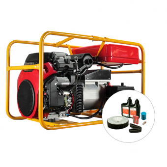 Powerlite Honda 12kVA Generator - Portable Petrol Trade Generators - Best Seller