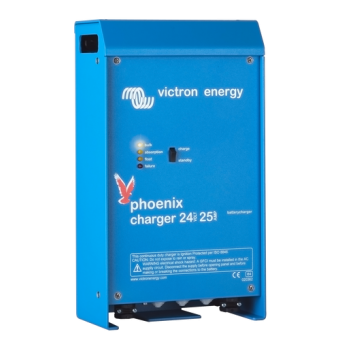 Victron Phoenix Charger 24/25 (2+1) 120-240V - 24V Off Grid Battery Chargers