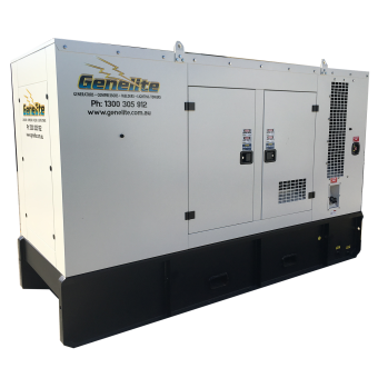 Genelite 165kva Cummins Three Phase Diesel Generator  - 50kVA to 250kVA Three Phase Stationary Diesel Generators