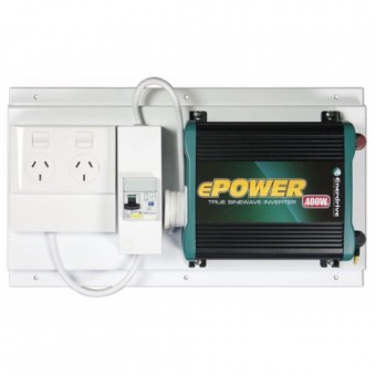Enerdrive ePOWER 400W Pure Sine Wave Inverter with RCD+GPO - 12V Off Grid Inverters