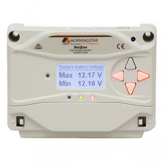 Morningstar ProStar 15 AMP Solar Charge Controller - Root Catalog