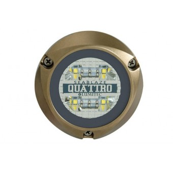 Lumitec SeaBlaze Quattro Underwater LED Light - Marine Underwater Lights