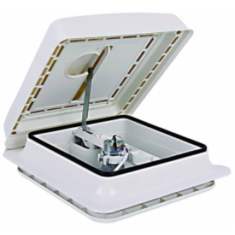 Finch Australia 12V Shower Hatch, 280 x 280mm Cut Out - Caravan Hatches & Skylights