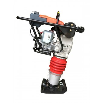Hoppt Petrol Vibratory Rammer Honda GX100 - 60kg - Concreting And Compaction - Best Seller