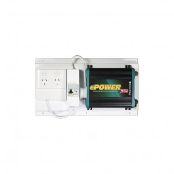 Enerdrive ePOWER 500W Pure Sine Wave Inverter with RCD+GPO - 12V Inverters