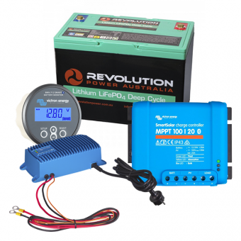 Revolution Power Entry Level 100Ah Low Draw Lithium Battery Solution - Root Catalog