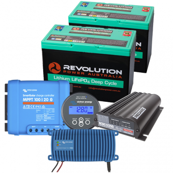 Revolution Power Entry Level 200Ah Low Draw Lithium Battery Solution - Root Catalog