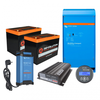 Revolution Power Advanced High Draw 200Ah Lithium Battery Solution with Victron 2000W Inverter - Root Catalog