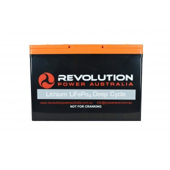 Revolution Power 12v 100Ah Lithium Battery - Lithium Batteries