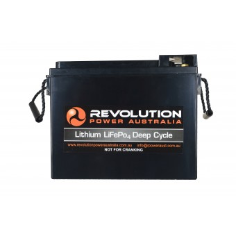 Revolution Power 12v 60Ah Slim Line Lithium Battery - Lithium Batteries