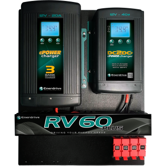 Enerdrive 20A AC & 40A DC RV-60 DIY Installation Kit - Battery Management Systems