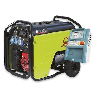 Pramac 5.3kVA Petrol Auto Start Generator + AMF - Auto Start Generators For Mains Failure