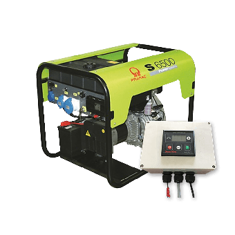 Pramac 6kVA Auto Start Diesel Generator + 2 Wire Controller - Auto Start Generators For Off Grid Solar