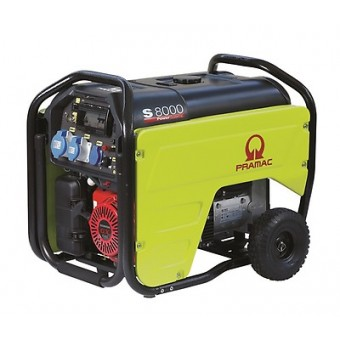 Pramac 7.2kVA Petrol Electric Start Generator - BEST SELLERS