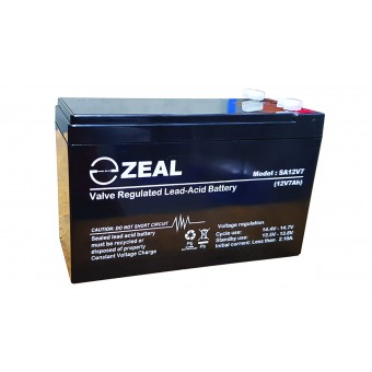 Zeal 7Ah 12V AGM Battery - AGM Deep Cycle Batteries
