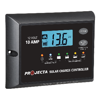 Projecta Automatic 12V 10A 4 Stage Solar Charge Controller - Solar Charge Controllers