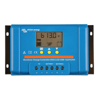 Victron BlueSolar PWM-LCD&USB 48V-10A Charge Controller - Off Grid Solar Charge Controllers