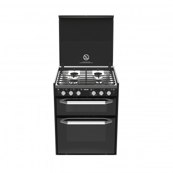 Thetford K1520 Combination Cooker with Oven, Stove & Grill - Gas Only - Marine Ovens & Grills