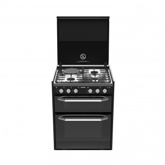 Thetford K1520 Combination Cooker with Oven, Stove & Grill - Fan Forced - Caravan Stoves