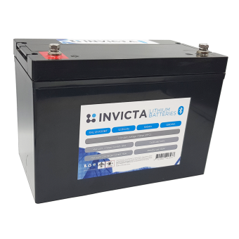Invicta 12V 100Ah Lithium Battery with Bluetooth - Root Catalog