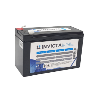 Invicta 12V 9Ah Lithium Battery with 4 Series Functionality - Root Catalog