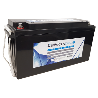 Invicta 24V 100Ah Lithium Battery with Bluetooth - Root Catalog
