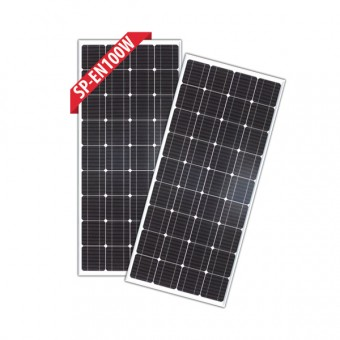Enerdrive 2 x 100W Fixed Solar Panel, Twin Pack - Camping Solar Panels & Accessories