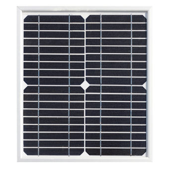Enerdrive 10W Mono Crystalline Fixed Solar Panel - Camping Solar Panels