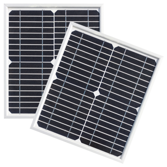 Enerdrive 2 x 10W Fixed Solar Panel Twin Pack - Camping Solar Panels