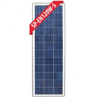 Enerdrive 120W Poly-Crystalline Slim Fixed Solar Panel - Camping Solar Panels & Accessories