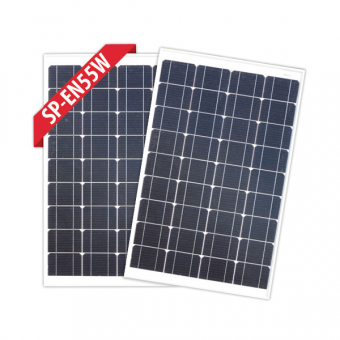 Enerdrive 2 x 55W Fixed Solar Panel Twin Pack - Camping Solar Panels