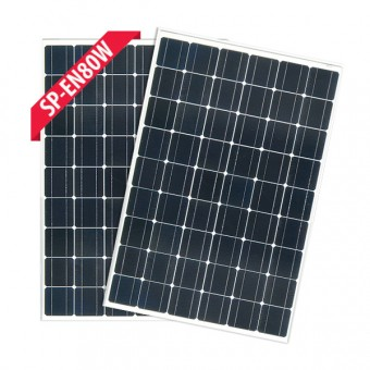 Enerdrive 2 x 80W Fixed Solar Panel Twin Pack - Root Catalog