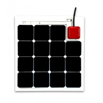 Solbian SunPower 47W Flexible Square Solar Panel - Flexible Solar Panels