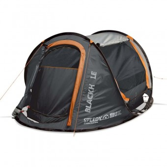 Explore Planet Earth Speedy Blackhole 2 Person Pop Up with LED Lights - Camping Tents
