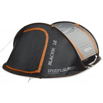 Explore Planet Earth Speedy Blackhole 4 Person Pop Up Tent with LED Lights - Camping Tents