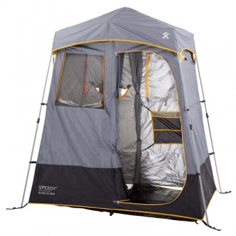 Explore Planet Earth Speedy Deluxe Twin Room Ensuite - Camping Bathroom